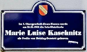 Marie Luise Kaschnitz Literatur Schreibnacht Unternehmen Lyrik